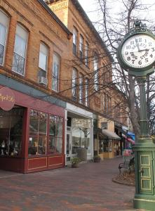 Scenic spots in Bath, Maine, include the historic downtown.