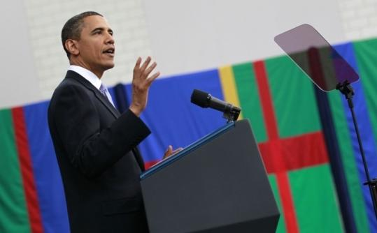 President Obama, speaking yesterday at Carnegie Mellon University in Pittsburgh, said that the nation's dependence on fossil fuels puts the economy and environment at risk.