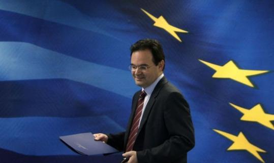 """Greece's finance minister, George Papaconstantinou, said the goal is """"to have a state which guarantees public services but at the same time taps the dynamism of Greece's economy.''"""