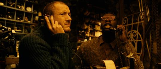 "Dany Boon (left) is Bazil and Omar Sy is Remington in Jean-Pierre Jeunet's ""Micmacs.''"