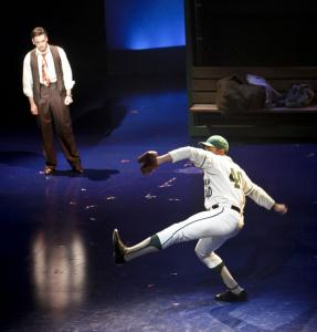 """Johnny Baseball,'' the American Repertory Theater's new musical about the Sox and their fabled curse, has a lively delivery and features some despairing fans bracing for a big loss."