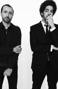 James Mercer of the Shins (left) and Brian Burton (a.k.a. Danger Mouse of Gnarls Barkley).