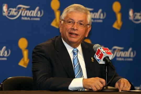 NBA commissioner David Stern held a wide-ranging news conference before Game 1 of the NBA Finals last night.