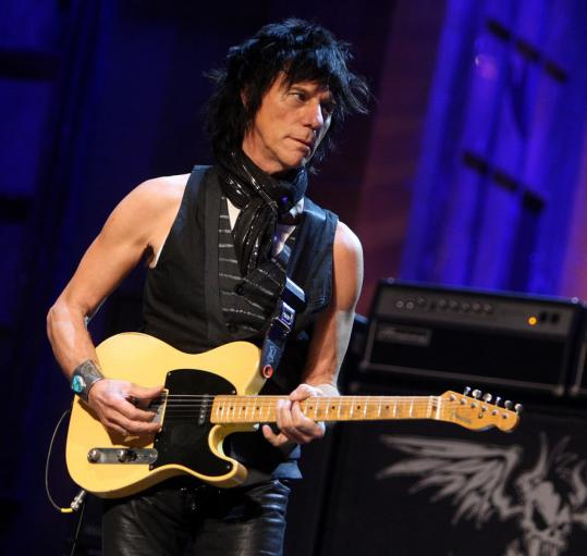Jeff Beck Causes A Commotion The Boston Globe