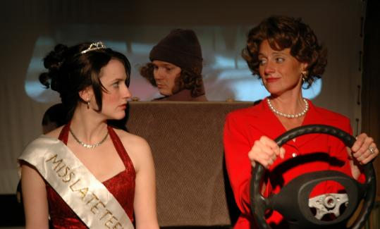 "Amanda Collins (left), Jonathan Fielding, and Brenda Withers in Wellfleet Harbor Actors Theater's production of ""Colorado.''"