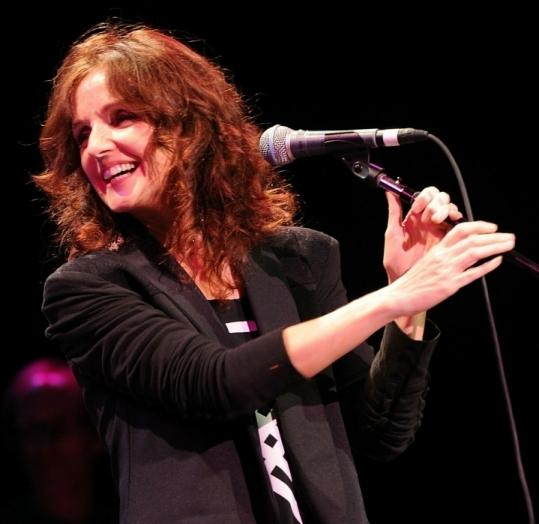 Patty Griffin (pictured last month in Nashville) mixed the sacred and secular in Boston Sunday.