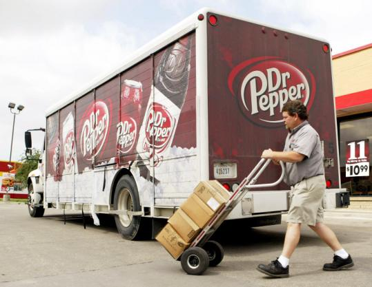 The deal announced yesterday gives Coca-Cola Co. continued access to Dr Pepper, which increased its sales last year.