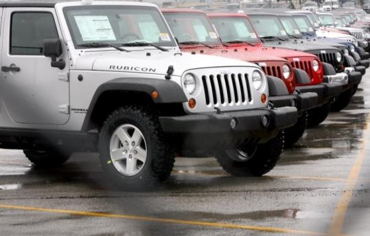 Chrysler is recalling 288,968 Jeep Wranglers from the 2006 through 2010 model years due to a potential brake fluid leak.