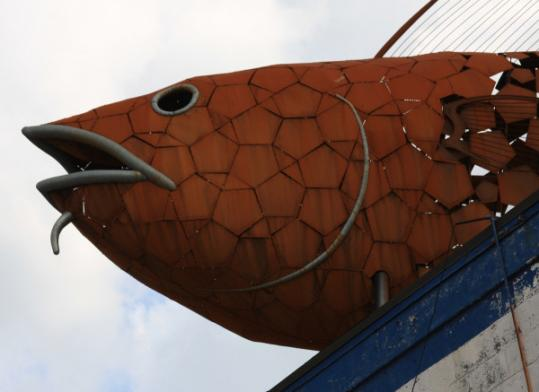 HARBORARTS OPENING CELEBRATION A 40-foot metal sculpture of a codfish is one of the pieces on view at the shipyard where you can meet the artists who installed more than 25 large-scale 2-D and 3-D pieces throughout the 14-acre space. The gallery is open year round. June 12, 2-5 p.m., rain or shine. Free. HarborArts Outdoor Gallery at Boston Harbor Shipyard, 256 Marginal St., East Boston. www.harborarts.net