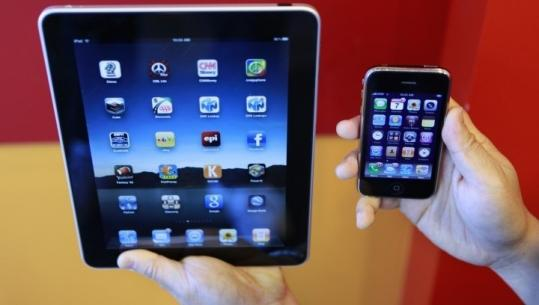 The iPad was affected by the security flaw, but not the iPhone.
