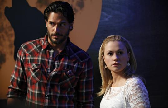 "Anna Paquin returns as Sookie and Joe Manganiello plays a good werewolf who watches over her in season three of HBO's ""True Blood.''"