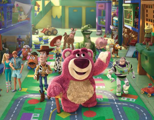 "The ""Toy Story'' gang has expanded for the second sequel to include Ken (of Ken and Barbie), a teddy bear named Lotso, and a purple octopus. But cowboy Woody is still the ringleader."