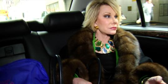 Joan Rivers was filmed for a documentary over about a year starting in 2008.