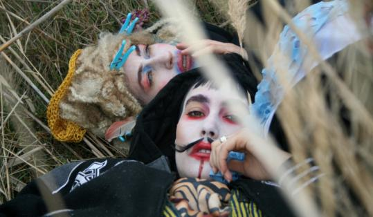Sisters Sierra (top) and Bianca Casady are CocoRosie, whose originality provokes listeners' strong and divergent reactions.