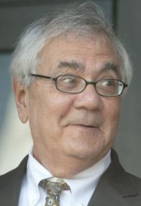 Representative Barney Frank made the Tea Party movement's list of Democrats to topple.