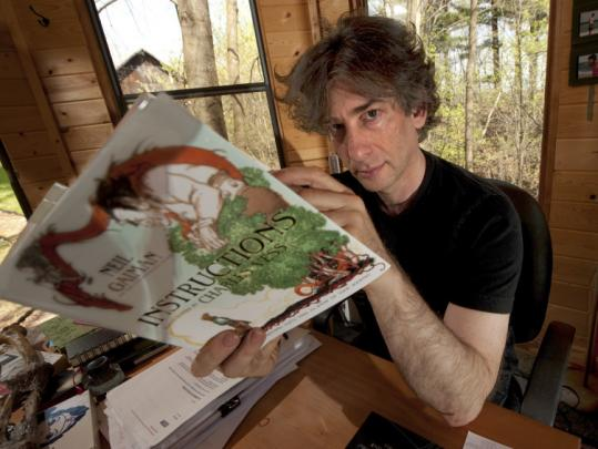 Author Neil Gaiman (left) has claimed that he is owed royalties from three characters he created for the comic book series. Todd McFarlane says he had another artist create characters and they weren't based on any of Gaiman's work.