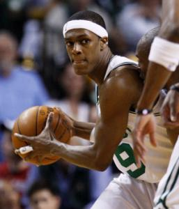 Thank Rajon Rondo for the Celtics' improved transition game.