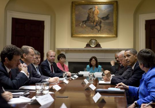 President Obama met yesterday with BP executives in the White House. The company has agreed to place $20 billion in an escrow account for claims resulting from the oil spill. It will also set aside $100 million for unemployed oil workers.