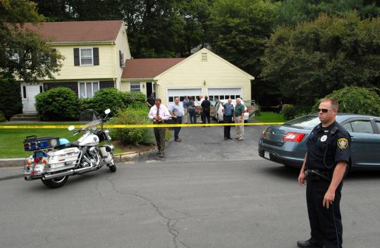 The bodies were found at the family's home in late morning yesterday. Officials did not say how the victims died.