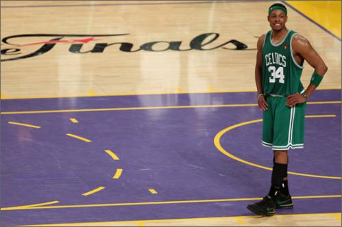 Less than two weeks after losing Game 7 of the 2010 NBA Finals, Pierce revealed he would forgo a $21.5 million player option and test the free agency waters. He was still a go-to guy for the Celtics this season, despite the emergence of point guard Rajon Rondo as a team leader, and Pierce, the team captain, also won the 3-point contest on All-Star Weekend.