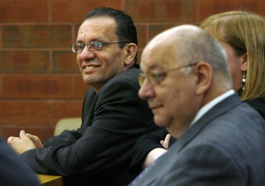 A Connecticut jury convicted Mayor Eddie Perez of Hartford (left) of corruption charges, including accepting home improvements as a bribe and trying to extort money from a real estate developer. He maintains he is innocent and will appeal.
