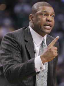 Doc Rivers said he has talked with his family about his coaching future in passing.