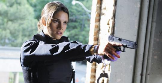 The series features Missy Peregrym as a new cop who botches a drug bust on her first day.