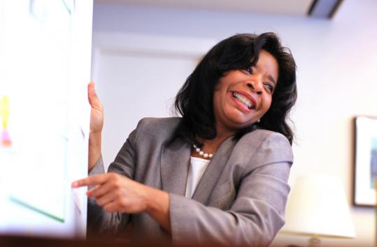 Elizabeth Thornton has been chief diversity officer at Babson College since 2008.