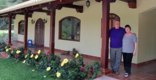 Gene and Marsha Fields, recently retired from Southhampton, N.Y., bought a 2,400-square-foot home in Vilcabamba.