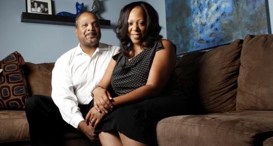 Derek and Alexis Brooks's telecommunications business has struggled during the recession but the couple says their marriage is stronger for it.