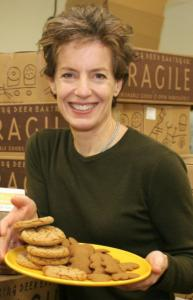 Trish Karter, 53, cofounder and chief executive for Dancing Deer Baking Co., resigned yesterday.