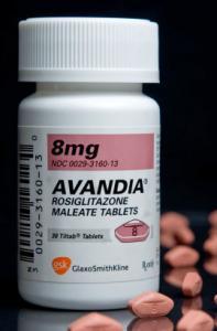 Avandia is a treatment for type 2 diabetes.