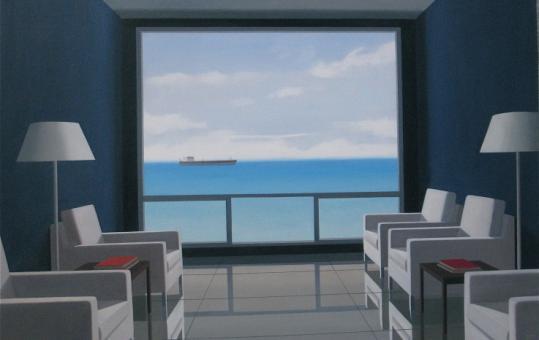 Tom McKinley's ''14th Floor,'' at Beth Urdang Gallery.