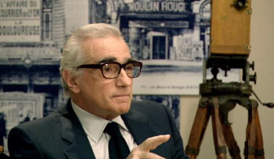 Martin Scorsese is one of many talking heads in the film.
