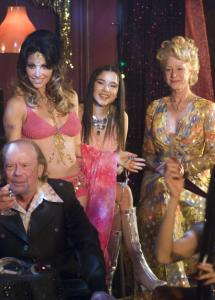 "Among the cast in the drama ""Love Ranch'' are Gina Gershon (left) and Helen Mirren (right)."