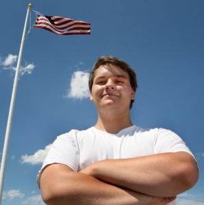 """I believe we owe it to those who fought,'' said Sean Harrington, 17, a senior at Arlington High School."