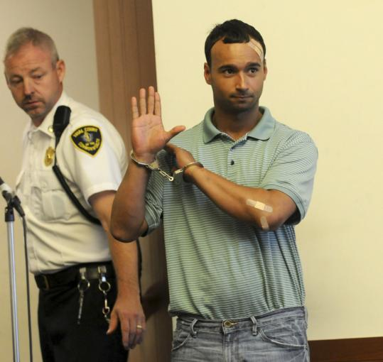 "Alejandro Serra, 29, yelled at his arraignment that he is ""Pope Alexander, not the apostle Alexander.''"