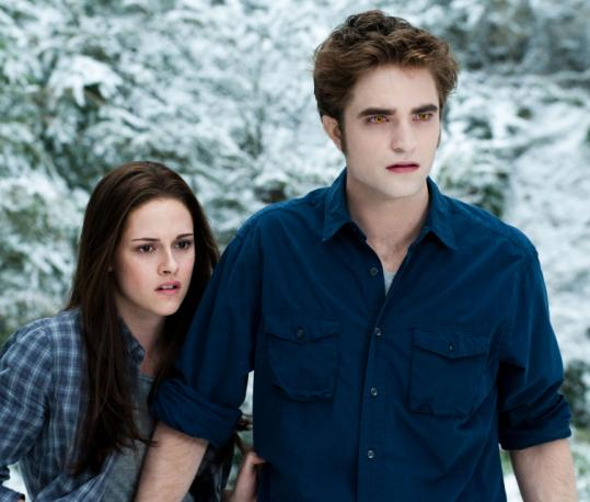 "Kristen Stewart and Robert Pattinson in ""The Twilight Saga: Eclipse.''"