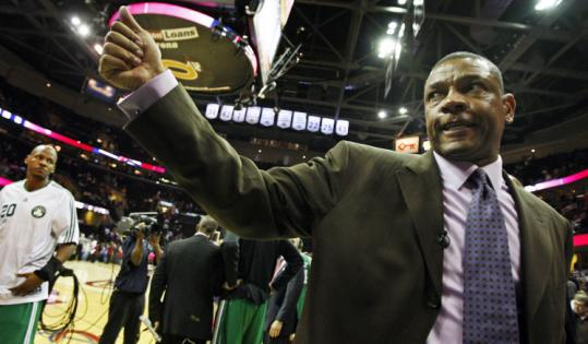 Celtics' coach Doc Rivers will be back for a seventh season.