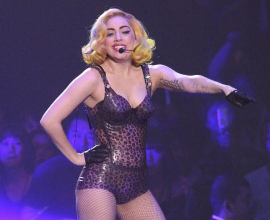 As outlandish as ever, Lady Gaga managed to anchor her show around her star power last night at the TD Garden.