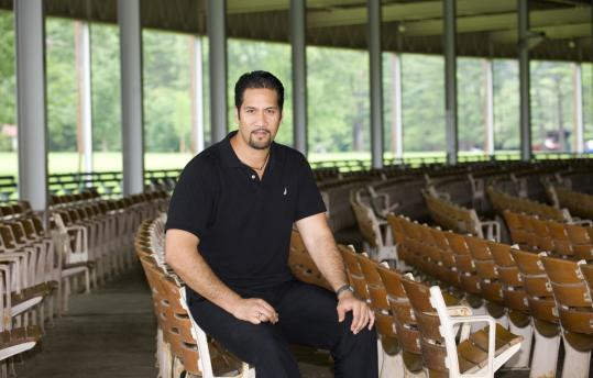 Ta'u Pupu'a, 33, an NFL player turned operatic tenor is a Tanglewood Music Center fellow.