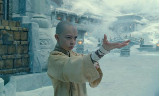 "Noah Ringer plays Aang in M. Night Shyamalan's ""The Last Airbender,'' an adaptation of ""Avatar: The Last Airbender,'' an animated series that aired on Nickelodeon from 2005 to 2008."