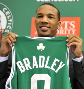 New Celtic Avery Bradley had a small but strong support system as he grew up.