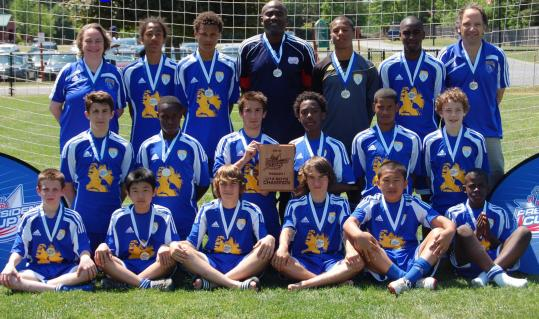The Shalrie Joseph Soccer Club U-14 team will kick off its quest for the US Youth Soccer Presidents Cup today. The team is comprised of talented players who represent a variety of cultures and who come from a variety of communities.