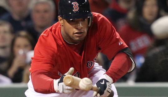 When the Red Sox outfield returns to health, Darnell McDonald's spot may be sacrificed.