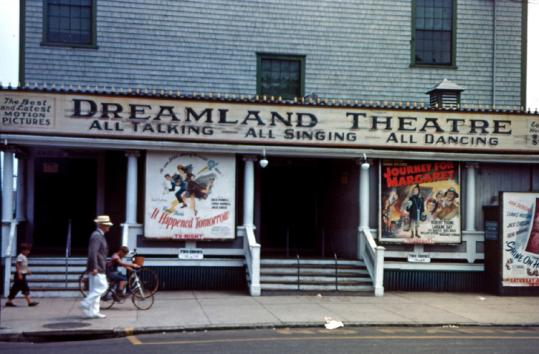The Dreamland Theatre closed in 2005 and was demolished in 2009. A new 340-seat movie theater is planned for the site.