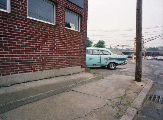Andrew M.K. Warren's 'Blue Chevy, Dedham, MA.'