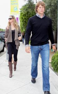 Gisele Bundchen and Tom Brady shopping in West Hollywood.