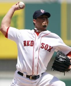 Pitching for Pawtucket, Josh Beckett allowed just two hits over four innings.