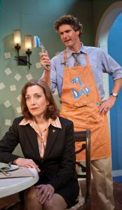 "Denise Cormier and Brendan Powers in ""Tender,'' now receiving its world premiere at Gloucester Stage Company."